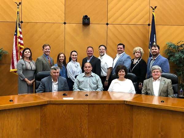 2019-2020 TEDF Board Of Directors Installed